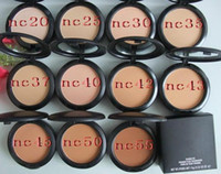 Wholesale New Powder Plus Foundation - FREE SHIPPING good quality Lowest Best-Selling makeup NEW Studio fix powder plus foundation 15g +gift