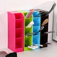Plastic organizing drawer - Household Multi function Four Cases Drawer Compartment Storage Box Cosmetic Underwear Desk Bar Organize