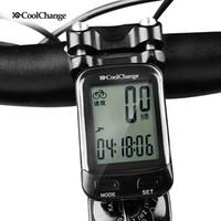 Wholesale Bike Speedometer Backlight - CoolChange Bike Wireless cadence Computer Rainproof 24 Multifunction Bicycle Odometer Cycling Speedometer Stopwatch Backlight