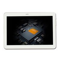 4g lte fall großhandel-Großhandels-4G LTE V109 Tablette PC 10.1 Zoll ips Android 6.0 Telefonanruf MTK6735 2GB / 16GB lederner Kasten 1280X800 IPS Viererkabel-Kern 2MP + 5MP GPS FM