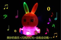 Wholesale Electric Music Rotating - Electric from obedient rabbit universal rotating obedient rabbit rabbit music lights wanxianglun children's toys