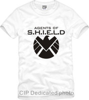 Wholesale Avengers Tshirts - free shipping eagle Avengers Agents of S.H.I.E.L.D. SHIELD sitcoms Kids tshirts clothes For Childrens sports T-shirt 100% cotton
