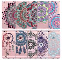 Wholesale Iphone 5c Colorful Case Cover - Case For iPhone 7 Plus 6 6S Plus 5 5S SE 5C Colorful Floral Paisley Flower Mandala Henna Clear Soft Cover