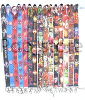 Wholesale Id Making - Wholesale ! Marvel made the League of Avengers Justice League mixed pattern phone Lanyards keys ID neck straps.Buy free delivery now