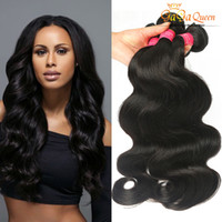 Wholesale Rosa Hair Products - Hot Beauty Products Brazilian Virgin Hair Body Wave Weaves 4Pcs Unprocessed 100% Human Hair Bundles Rosa Products Mink Brazilian Hair