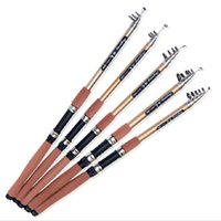 Wholesale High Carbon Fishing Pole - Wholesale Telescopic Fishing Rod Carbon Fiber Rod Casting Rock High-density Spinning Fishing Pole Ultra Light Free Shipping