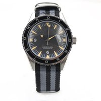 Wholesale Fabric Watches - 2017 new Luxury Hot 41mm men 300 Master Co-Axial 007 Watch mechanical Movement Automatic Mens Men's Watches Sports Wristwatch