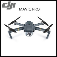 Wholesale Flying Camera Systems - 2017 DJI Mavic Pro Fly more Combo Folding FPV Drone With 4K HD Camera, OcuSync Live View GPS GLONASS System RC Quadcopter