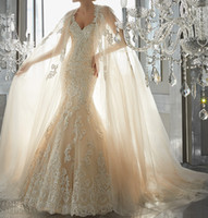 Wholesale Sweetheart Fit Flare Gowns - A-line overskirt mermaid lace wedding dresses 2017 sweetheart neckline full embellishment elegant fit and flare chapel train bridal gowns