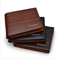 Wholesale travel for sale - Cheap New Arrival PU Leather Wallets For Mens Designer Bifold Money Short Purse High quality Cluch Cente Party Travel Wallet