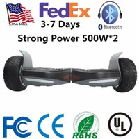 Wholesale Usa Wheels Self - USA Stock Strong Power 500W*2 Hummer Ultra Wide Wheels Smart Electric LED Scooter Hoverboard Bluetooth Self Balancing Scooters Skateboard