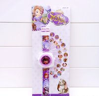 Wholesale Princess Watches - Cartoon princess Projection watch Children Gifts-20 Different Patterns Children's gifts AW5