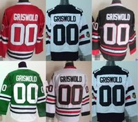 3731383ba95 ... Ice Hockey Men Full 2016 Free Shipping Chicago Blackhawks Hockey Jersey  00 Clark Griswold Jersey ...