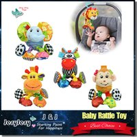 Wholesale Travel Arch - Sozzy Baby Toys Travel Arch Stroller Hanging Cot Bed Crib Mobiles Soft Plush Rattles Toy For Newborn Babies