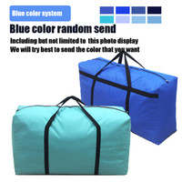 Wholesale Extra Large Plastic Bags - high quality extra large Thickened waterproof Outdoor Oxford cloth woven bag luggage pack travel bag large Duffel Bags 90 * 50 * 27cm