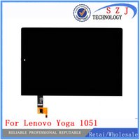 Wholesale Lenovo Lcd Monitors - Wholesale- New 101.1'' inch For Lenovo Yoga Tablet 2 1051 1051F 1051L LCD Display Monitor + Digitizer Touch Screen Glass Panel Replacement