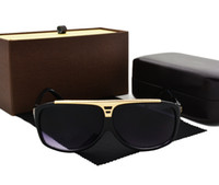 Wholesale United Cat - Europe and the United States retro sunglasses outdoor 2017 men and women travel sun glasses sunglasses with box and cases