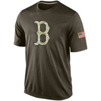 Men order of service - new styles of Men s Boston Red Sox Olive Salute To Service KO Performance T shirt accept any size and mix order