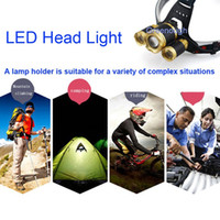Wholesale reading low light - New Style 5000LM Bright LED Headlight Headlamp Flashlight Torch For Reading Outdoor Running Camping Fishing Walking Bicyle Lights