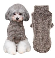 Wholesale Quality Cotton Dog Sweaters - Wholesale-High quality Pet Clothes Teddy Dog Clothes Clothing Autumn And Winter Outfit warm knitting knitting crochet clothes 4-299