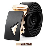 Wholesale Designer Belts Mens Luxury Belt Leather Belts For Men New Fashion Men s Business Buckles Belt Man High Quality Luxury Belts SX Z027