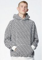 Wholesale Neck Warmers Men - Warm Men Clothing Kanye west Tops Long Sleeve hoodie Casual FEAR OF GOD Casual shark Club Hooded Sweatshirt Men FOG Clothes coat