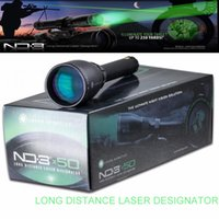 Wholesale Scope Mount Lasers - Laser Genetics ND3X50 Long Distance Green Laser Designator ND50 w  Adjustable Scope Mount