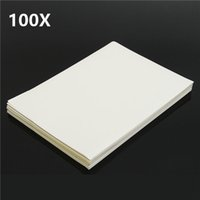 Wholesale White Sticker Paper Label - 100pcs A4 White Matte Self Adhesive Sticker Paper Sheet Label Laser Inkjet Print