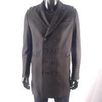 Wholesale Wholesale Wool Coat Man - Wholesale Fashion Men's Trench Coat, Winter Jacket ,mens mid-long slim Double Breasted Coat ,Overcoat woolen Outerwear S-XXXL black color
