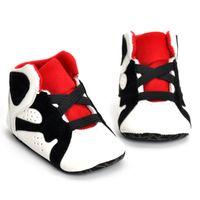 top-baby erste walker schuhe großhandel-Mode Baby Kinder Erste Wanderer Kinder weichen Boden Anti-Rutsch-Schuhe Winter Warm Kleinkind Schuhe Top-Qualität