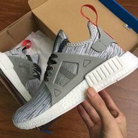 Wholesale Open Toe Skull Shoes - Cheap NMD XR1 x Mastermind Japan Skull Men's Casual Running Shoes for Men Original quality Black Red White Boost Fashion Sneakers women shoe