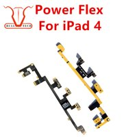 Wholesale Button Gen - Power Button On Off Volume Control Flex Cable Part For iPad 4 4th Gen DHL Free Shipping