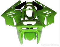 Wholesale 1996 Zx9r Kawasaki Fairings - 3 Free Gifts New ABS Fairing Kits 100% Fitment For KAWASAKI Ninja ZX9R 1994 1995 1996 1997 9R 94 95 96 97 Bodywork set green gloss