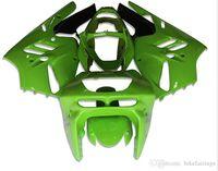 1997 carenados de kawasaki al por mayor-3 Regalos gratuitos Nuevos kits de carenado ABS 100% Fitment para KAWASAKI Ninja ZX9R 1994 1995 1996 1997 9R 94 95 96 97 Carrocería conjunto brillo verde