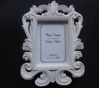 Wholesale Photo Frame Table - Wholesale- The Hot Sale 2016 Pretty Classical Baroque Small Photo Frame Fashion Gift The Wedding Scene Props for Wedding Table Accessories