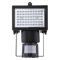 Wholesale Free Solar Projects - Wholesale 60 LED Solar Floodlight outdoor wall lamps garden lighting LED Flood Security Garden Projecting Landscape Lawn Light free shipping