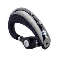 indicaciones de voz samsung al por mayor-Banpa BH693 BH-693 Auricular Bluetooth Gancho para la oreja V4.0 Estéreo inalámbrico Lightweigh Indicador de voz Auricular Manos libres con micrófono para iPhone 7 Samsung