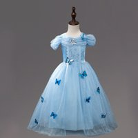 Wholesale Costume Children Cinderella - Cinderella Dress Girls Christmas Tutu Costumes For Girls Dresses Kids Role-play Party Fancy Dress Children Clothing girl's dress up tutus