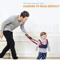Wholesale Kids Backpack For Walking - Baby Walker Assistant Toddler Leash Backpack For Kids Walking Harness Leash walker Assistant Mother Care Baby Walk Learning