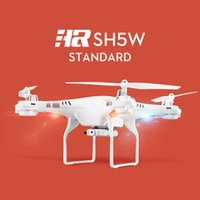 Wholesale Brand New HR SH5W CH Axis FPV Wifi Drone Camera Ghz drone helicopter camera