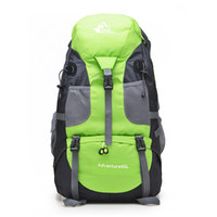 Wholesale color canvas art for sale - Group buy Outdoor Backpack Sport Shoulder Bag Color Men And Women Rucksack Waterproof Riding A Travel Trip Mountaineering Bags gf F
