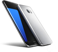 Wholesale Fast Random - 5.5 inch S7 EDGE Screen curved MTK6580 quad core Metal Version Cellphone Android Show fake 4G LTE Smartphone Cell Phones fast shipping