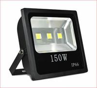 dış mekan duvar yıkama ışıkları toptan satış-Açık sel aydınlatma toptancı 10 W 20 W 30 W 50 W 70 W 100 W Ince led park yeri sel ışıkları Su Geçirmez LED Duvar Yıkama Işıkları AC85-265V