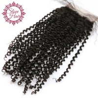 Wholesale Super Cheap Peruvian Hair - 8a Peruvian Virgin Silk Base Closures, Super Quality Cheap Human Hair Peruvain Kinky Curly Silk Base Closure