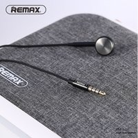Compra Testa Del Bluetooth Di Iphone-Remax Dynamic Single Side Auricolare Flat Ear Design Over-head Cuffie Wired Microphone Control per iPhone Xiaomi