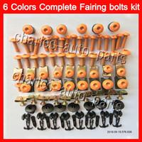 Wholesale Honda Vfr Fairing Kit - Fairing bolts full screw kit For HONDA VFR800 02 03 04 05 06 VFR 800 VFR800RR 2002 2003 2004 05 2006 Body Nuts screws nut bolt kit 13Colors