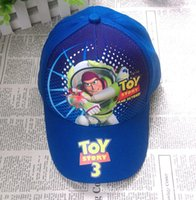 Wholesale Hat For Toy - Wholesale- Fashion Summer Toy story Baseball Cap Kids Hats Cartoon Hats Sunhat Baseball Caps Sport Cap Hat for Child Kids Boy