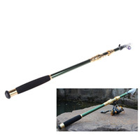 Wholesale Telescoping Spinning Rods - 2.1M 6.89FT Portable Telescope Fishing Rod Travel Spinning Fishing Pole H10179