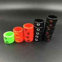 Wholesale Tanks For E Cigs - Superman Vape Bands Decoration Protection Rubber silicon rings for Tank Mod Deadpool Punisher silicone e cigs