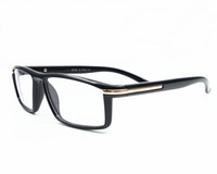 Wholesale Goggles Myopia - Italy Brand Fashion Men Women Square Eyeglasses Frames Unisex Myopia Frames Glasses PC Computer Radiation Sunglasses Oculos